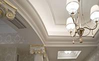 Ручная лепка потолка
