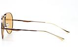 Авиаторы желтые очки солнечные с поляризацией. Солнцезащитные очки мужские поляризационные, фото 3
