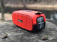 Портативная Bluetooth колонка Hopestar A20 Красный Хопстар акустическая система с аккумулятором с влагозащитой