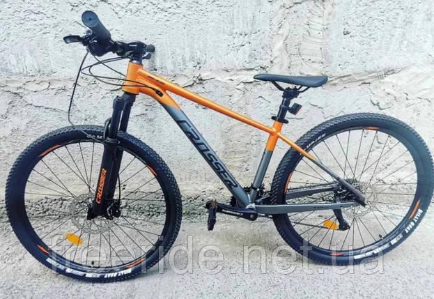 """Горный велосипед Crosser MT-036 27.5"""" (15.5) 2*9S гидравлика LTWoo, фото 2"""