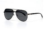 Солнцезащитные очки авиаторы прозрачные мужские с поляризацией. Мужские очки солнцезащитные, фото 2