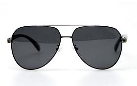 Сонцезахисні окуляри авіатори чоловічі з поляризацією та металевою оправою. Чоловічі окуляри сонцезахисні