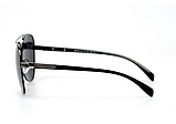 Солнцезащитные очки авиаторы прозрачные мужские с поляризацией. Мужские очки солнцезащитные, фото 3