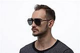 Солнцезащитные очки авиаторы прозрачные мужские с поляризацией. Мужские очки солнцезащитные, фото 5