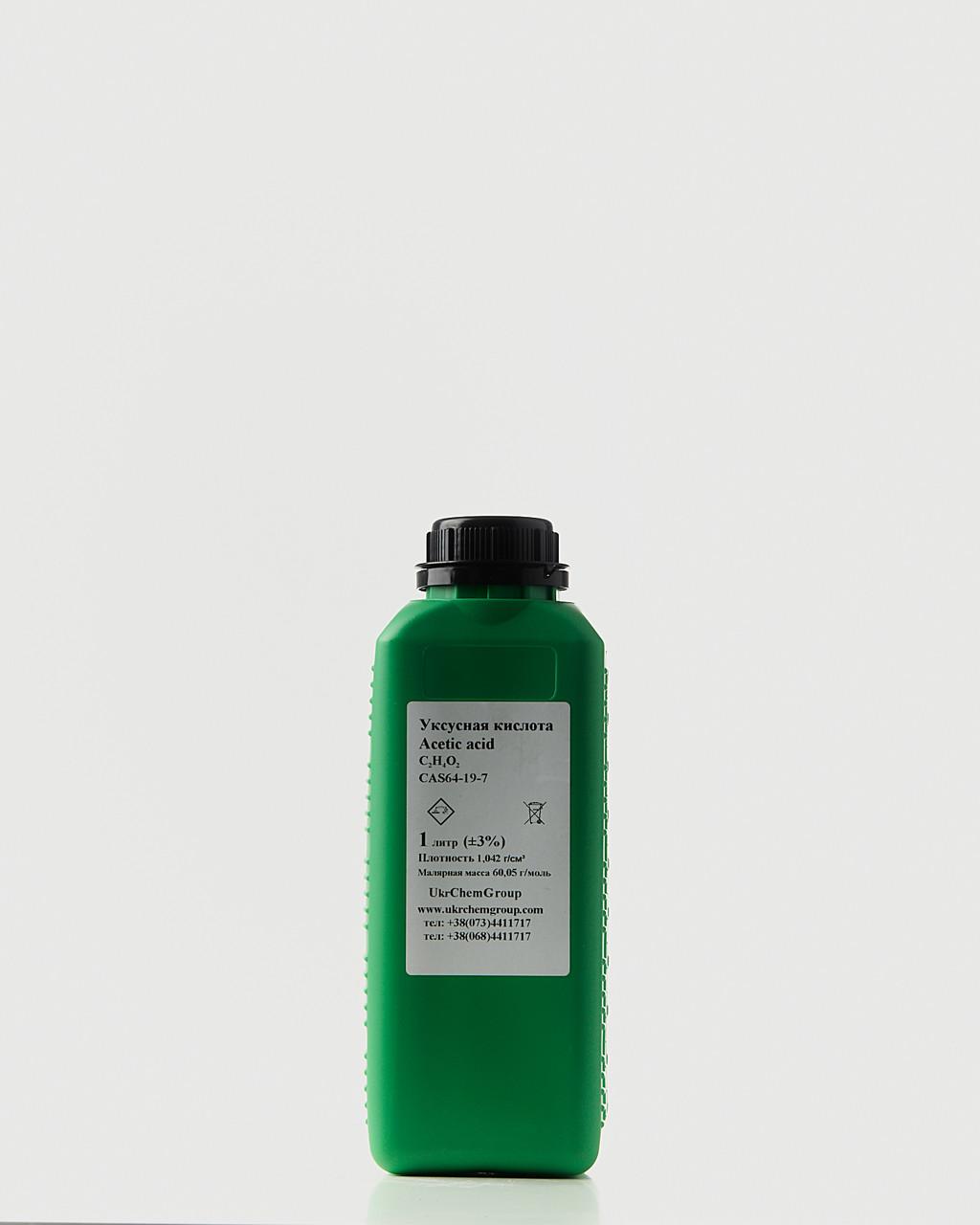 Крижана оцтова кислота (ледянка) ЦИБУЛЯ acetic acid C2H4O2 99.88 % 100л