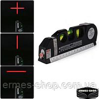 Лазерный уровень со встроенной рулеткой Fixit Laser Level Pro 3, фото 6