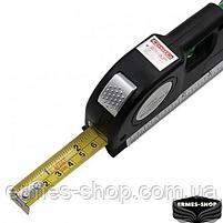 Лазерный уровень со встроенной рулеткой Fixit Laser Level Pro 3, фото 3