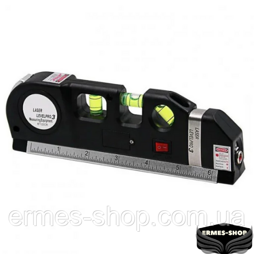 Лазерний рівень з вбудованою рулеткою Fixit Laser Level Pro 3
