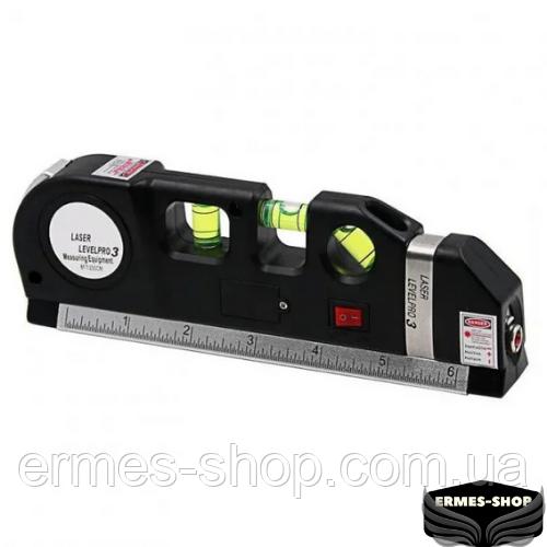 Лазерный уровень со встроенной рулеткой Fixit Laser Level Pro 3