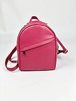 Малинова жіноча сумка-рюкзак з штучної шкіри RM1x26