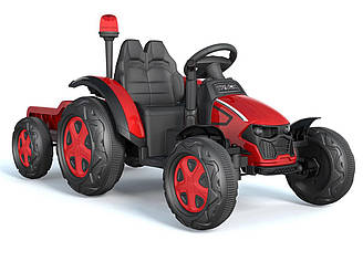 Електромобіль трактор на Bluetooth 2.4G Р/К T-7313 EVA RED