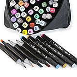 Скетч маркеры Thiscolor 48 шт | Набор двусторонних маркеров для рисования и скетчинга на спиртовой основе, фото 2