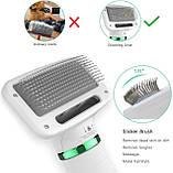 Пылесос-расчёска для шерсти Pet Grooming Dryer, фото 3