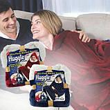 Плед толстовка с рукавами Huggle – плед флисовый мягкое худи одеяло теплое удобное комфортное худи, фото 3