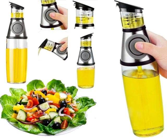 Дозатор для масла и уксуса Press & Measure | Диспенсер нажимной масляный
