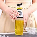 Дозатор для масла и уксуса Press & Measure | Диспенсер нажимной масляный, фото 3