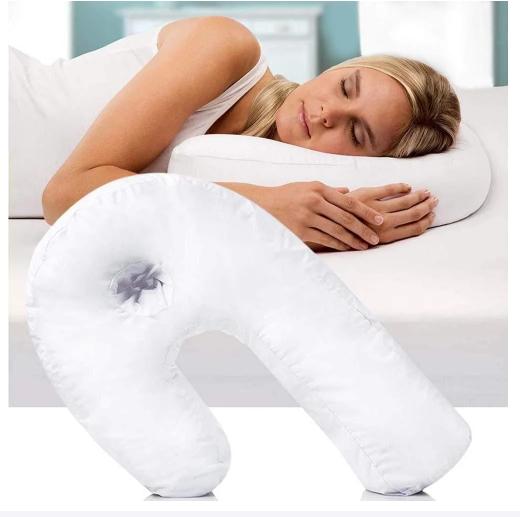 Анатомическая ортопедическая подушка подкова для сна Side Sleeper Pro