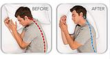 Анатомическая ортопедическая подушка подкова для сна Side Sleeper Pro, фото 5
