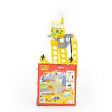 """Іграшка баштовий кран """"Агат"""" на коліщатках великий 79 см, Полісся, фото 2"""