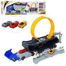 Дитячий ігровий трейлер з петлею і 3-машинками