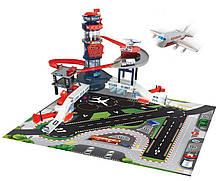 Іграшка аеропорт для дітей зі світловими і звковыми ефектами з транспортом, Dickie Toys