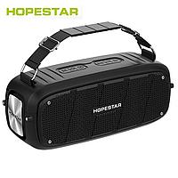 Портативная Bluetooth колонка Hopestar A20 Черная Хопстар акустическая система с аккумулятором с влагозащитой
