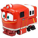 Альф Роботи Поїзда іграшка трансформер, 10 см, Silverlit (Оригінал), фото 4