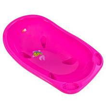 Детская ванночка для купания новорожденных, розовый ST-3033