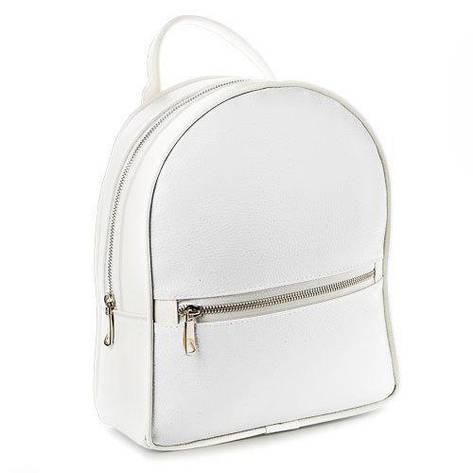 Рюкзак міський жіночий (білий), фото 2