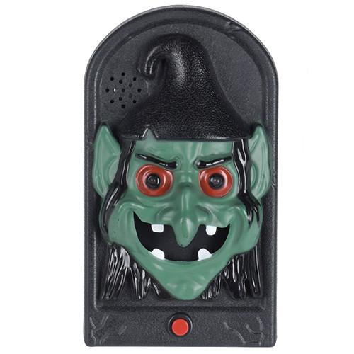 Дверний дзвінок Відьма, LED, 3хААА