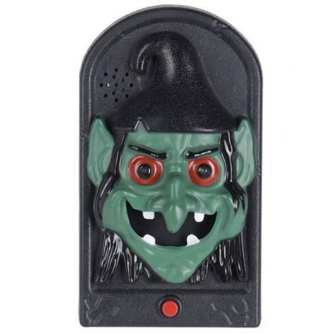 Дверний дзвінок Відьма, LED, 3хААА, фото 2
