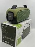 Портативна колонка Hopestar A21, стерео колонка Bluetooth c пило-вологозахистом, бездротова Зелена, фото 2