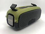 Портативна колонка Hopestar A21, стерео колонка Bluetooth c пило-вологозахистом, бездротова Зелена, фото 4