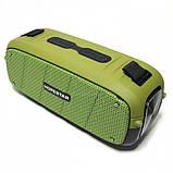 Портативна колонка Hopestar A21, стерео колонка Bluetooth c пило-вологозахистом, бездротова Зелена, фото 8