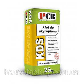 Клейовий розчин для полістиролу PCB KDS 25 кг
