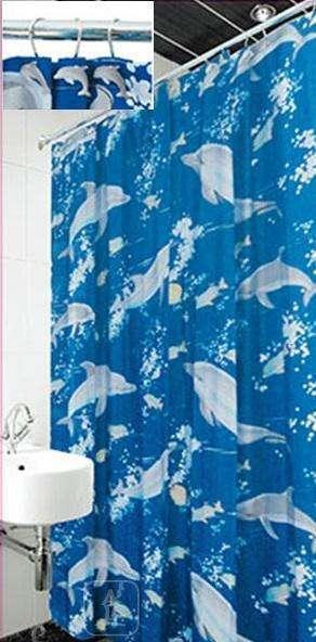 Фіранки для душу Arya Dolphin 180x180 див. 1353012