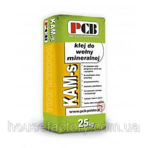 Клейовий розчин для закладки сітки і приклеювання мінеральної вати PCB KAM-s 25 кг