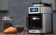 Кофеварка для зернового и молотого кофе ARDESTO YCM-D1200 Кофемашина с чашей, Кофеварка капельная