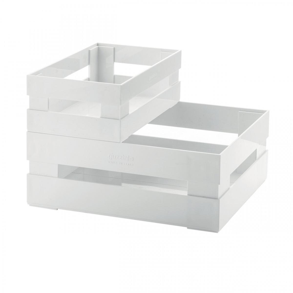Набір скриньок для зберігання Guzzini Tidy Store 16950011 2 предмета білі