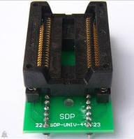 Плата переходник для программирования SOP44/PSOP44 на DIP-44