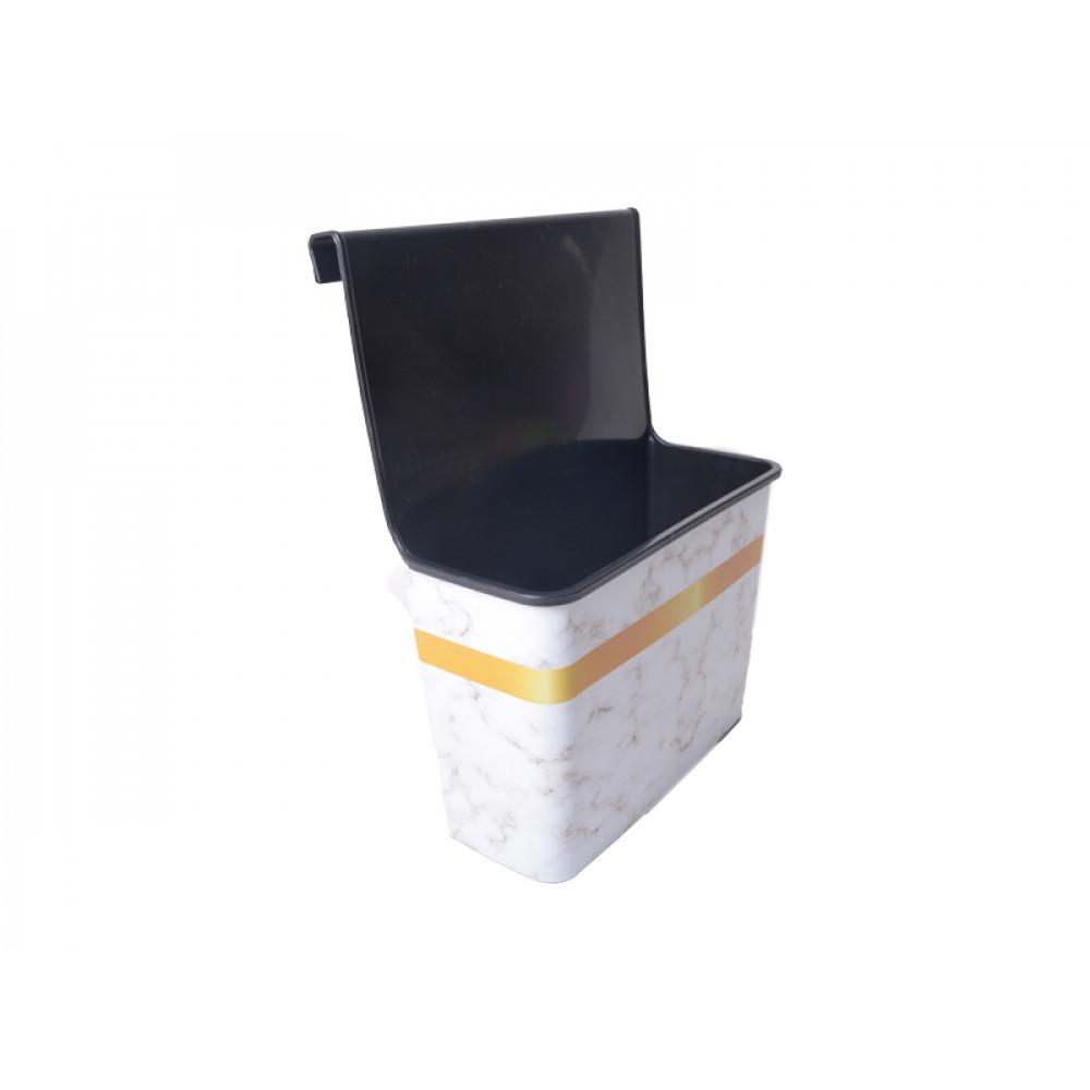 Органайзер навесной Arslankaya Plastik Мрамор AR-420 4 л 24,5x33x13 см