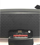 Портативна колонка Hopestar A21, стерео колонка Bluetooth c пило-вологозахистом, бездротова Сіра, фото 8