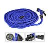 Шланг садовий поливальний Мадіс House 15.0 м 50FT Синій з розпилювачем 8 режимів!! Міцний Компактний
