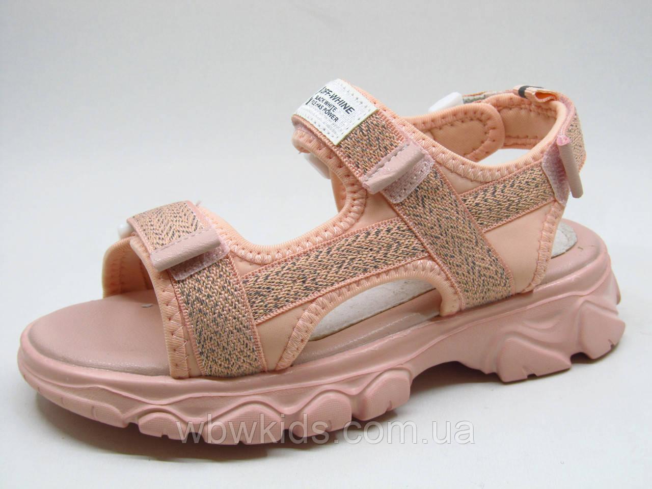 Босоножки детские Clibee Z-810 на девочку розовые