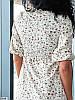 Р. 42-56 Женское летнее платье миди с боковым разрезом и фигурной горловиной норма и батал, фото 5