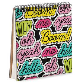 Блокнот Sketchbook (квадрат.) Boom!