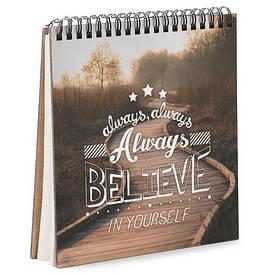 Блокнот Sketchbook (квадрат.) Always believe in yourself