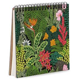 Блокнот Sketchbook (квадрат.) Тропики
