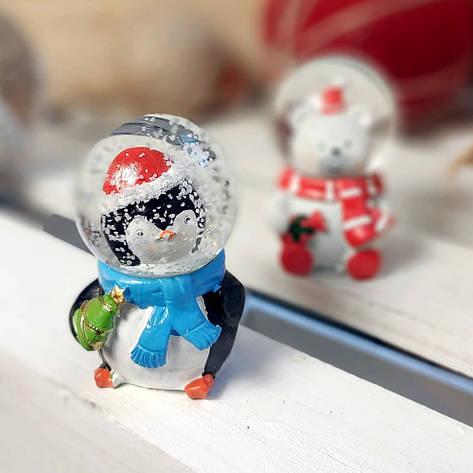Новорічна фігурка декоративна Пінгвін (мал.), фото 2