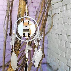 Декоративна підвіска Ловець снів, Тигр